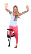 iWALK2.0 - Hands Free Knee Crutch