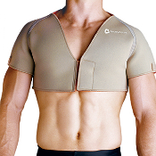 Conductive Double Shoulder Wrap Support