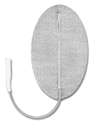 "Pals® Platinum 1.5"" x 2.5"" Oval, Pigtail, Steel Knit Cloth, Reusable"