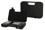 Carrying Case--Black Plastic w/Molded Interior