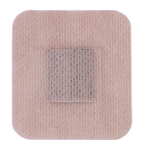 "Multi-Day® 2.25"" x 2.5"" Sq., Pin, Blue Gel, Tan Cloth"