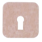 "Uni-Patch™ 3"" x 3"" Tape Patches w/Keyhole, Low Tac, Tan Tricot"