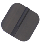 "Uni-Patch Re-Flex 2""x2"" Rect., Pre-Gel, Carbon Rubber"