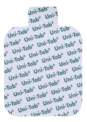"Uni-Patch Uni-Tab® 2"" x 2.25"" Sq., Tab Connect, Foam 48/pkg"