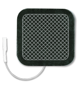"UltraStim® 2"" x 2"" Sq., Pigtail, Silver Grid Reusable"