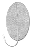 "Pals® Platinum 3"" x 5"" Oval, Pigtail, Steel Knit Cloth, Reusable"