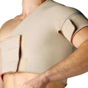Conductive Single Shoulder Wrap Support